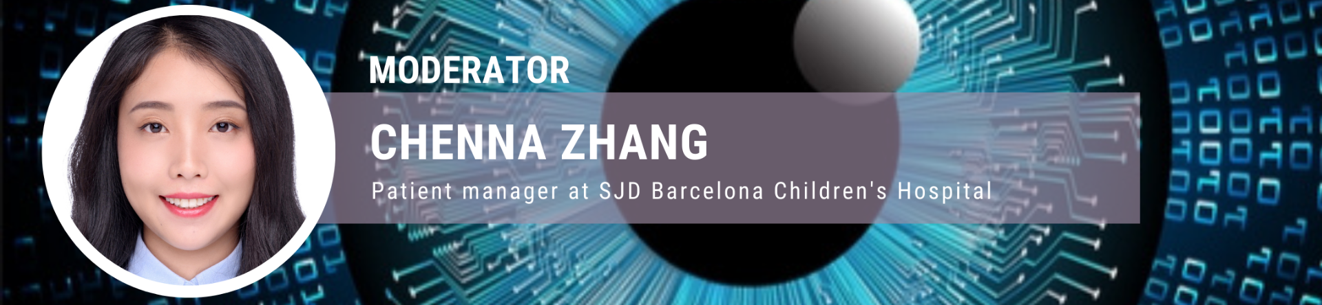 Chenna Zhang, patient manager at SJD Barcelona Children's Hospital.