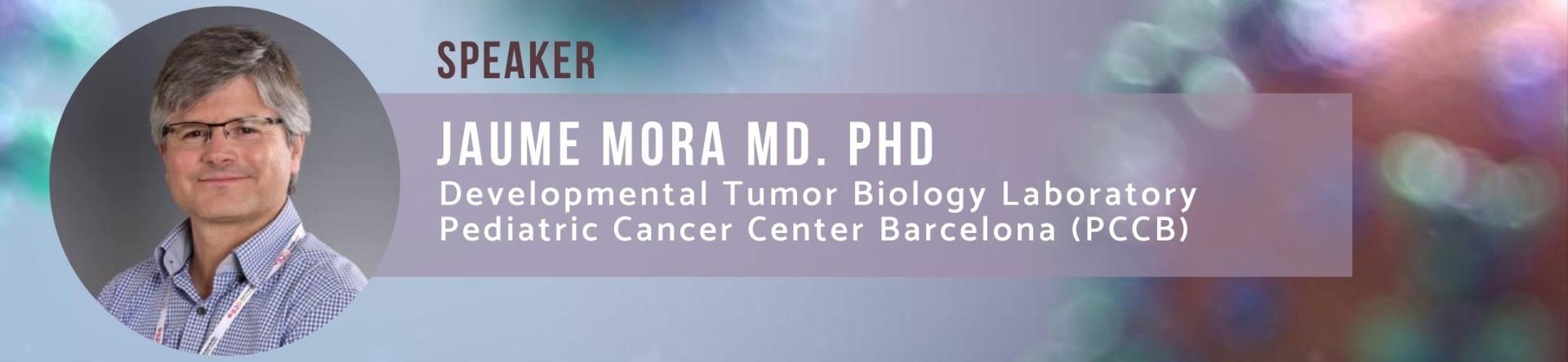 Jaume Mora Immunotherapy for neuroblastoma